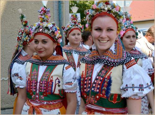 Dívky z Velké nad Veličkou, červenec 2014