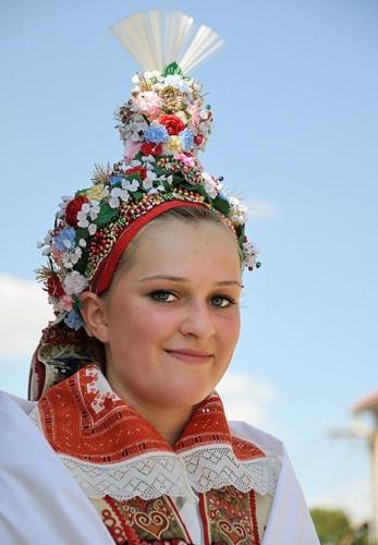 Dívka z Malé Vrbky, červenec 2014